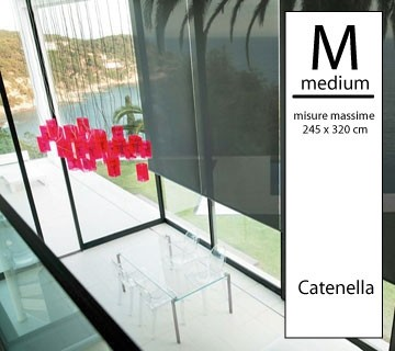 Tenda a rullo Magicroll Screen Microforato - Medium a catenella