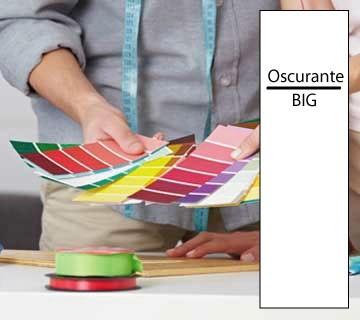 Campione tessuto OSCURANTE BIG